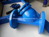 Y-Tipo filtro do ferro de carcaça com engranzamento Ss304/Ss316