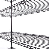 Cremalheira de fio de aço Home moderna da cola Epoxy do armazenamento da série da alta qualidade 5