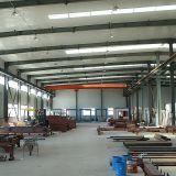 H perfiló el almacén de acero para el taller
