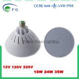 RGB färben ändernde ferngesteuerte Birnen-Lampe LED-E27 PAR56