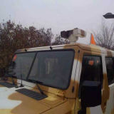 Câmera térmica montada do veículo de fiscalização da beira