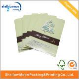 Поздравительная открытка изготовленный на заказ с Рождеством Христовым бумажная с логосом