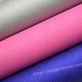 Couro do plutônio da sapata, couro colorido do falso para o empacotamento decorativo