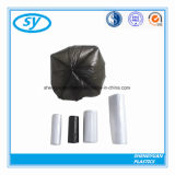 PEの物質的で黒いプラスチックごみ袋