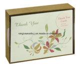 Профессиональные Handmade Eco содружественные благодарят вас конструкция поздравительных открыток