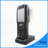 QS 휴대용 열 인쇄 기계 인조 인간 이동할 수 있는 단말기 PDA Barcode 스캐너