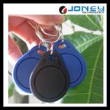 125kHz / 13.56MHz Controle de acesso Azul RFID Keyfob