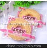 Empaquetadora automática de alta velocidad de la almohadilla de la máquina del paquete de la torta del ciruelo