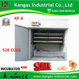 Le ce a réussi l'incubateur automatique d'oeufs pour la petite ferme de poulet