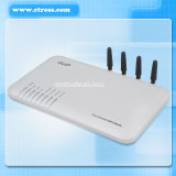 Dbl GoIP-400 GSM VoIP / GoIP Gateway pour la terminaison (4 canaux!)