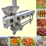 自動バーベキューストリング機械またはSatay肉焼串機械