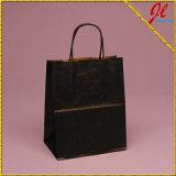 Achat de sacs en papier avec poignées et sacs brillants pour les achats