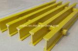 Reja de Pultruded del suelo del área de la contención, reja de la fibra de vidrio