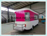 4 Wheels Mobile Van Food Caravan
