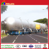 Multi Hochleistungswellen-schwerer Geräten-Transport-Becken-halb Schlussteil