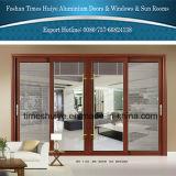 Раздвижные двери алюминиевого профиля толщины цены по прейскуранту завода-изготовителя 1.6mm сверхмощные