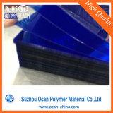 Color de la hoja de PVC rígido, transparente Hoja de Plástico Color de Sunglass
