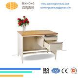 Lh107オフィス用家具のための木の表面の金属の机
