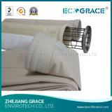 Sachet filtre de polyester de sac d'extracteur de poussière