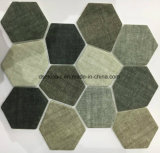 Azulejo de mosaico de cristal irregular de la impresión de la inyección de tinta de la más nueva tecnología