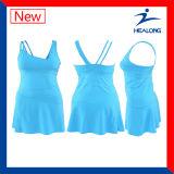 Healong 최신 디자인 특별한 가득 차있는 승화 정구복 착용