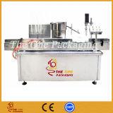 Llenador líquido de China y máquina que capsula