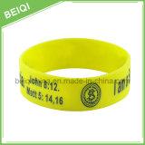 Wristbands su ordinazione promozionali poco costosi del silicone