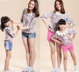 Fleur de vêtements Parent-Children T-Shirt F7