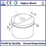 Adaptateur de tube pour main courante en acier inoxydable et balustrade