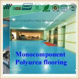 Protection en baisse sûre et plancher Monocomponent antidérapage de Polyurea