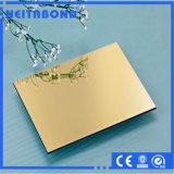 ACP composé en aluminium de panneau d'enduit de PVDF pour l'application extérieure de Signage avec le prix usine