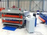 Coloridos techos máquina formadora de rollo de acero fabricado en China