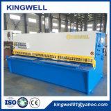 Máquina de corte hidráulica da placa de metal com preço barato (QC12Y-4X2500)