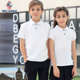 Bulk White Primary School Uniform Polo