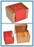 Примите подгонянную коробку бумажного подарка упаковывая