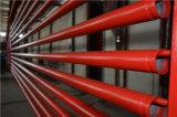 Tubulação de aço pintada de luta contra o incêndio médio do UL FM