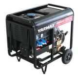 generatore domestico portatile diesel di uso del gruppo elettrogeno 6kw