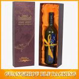 Bouteille de vin de liqueur Papier de cadeau Boîte en carton à l'emballage