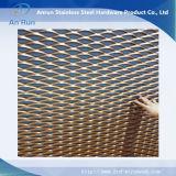 Rete metallica ampliata decorativa di alluminio delle facciate