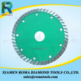 Romatools 다이아몬드 화강암, 대리석, 세라믹 콘크리트를 위한 강한 터보 잎
