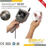Farmscan M30のブタ、ヒツジ、ヤギの妊娠の探知器のVeteinaryの診断超音波のスキャンナー