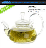 600ml de sopa de chá de vaso de vidro para utensílios de cozinha