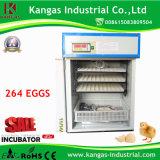 Volaille Hatcher d'incubateur fournie par usine d'oeufs de support de technologie petite