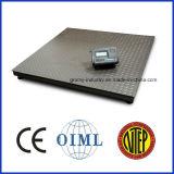 Plattform-Fußboden-Schuppe der Digital-wiegenden Schuppen-1000kg