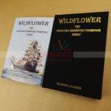 Смещенная книга печатание Casebound книга в твердой обложке