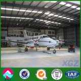 Hangar de los aviones del marco de acero con la puerta deslizante de alta calidad (XGZ-A016)