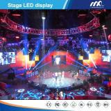 Indicador de diodo emissor de luz dos estágios ou do evento da cor P7.62 cheia