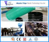 Riga dell'espulsione del tubo flessibile di aspirazione di rinforzo spirale del PVC/linea di produzione