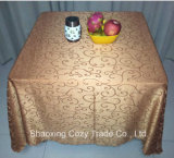Hot Sale plaine Nappe Jacquard Polyester
