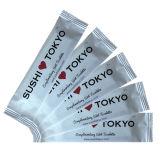 Wegwerfbare gesundheitliche japanische machten Abwischen naß